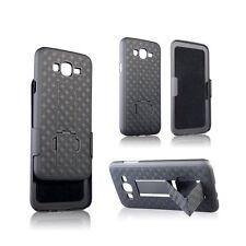 Samsung Galaxy J3 Express Amp Prime Slim Slide Hard Shell Belt Clip Holster Case
