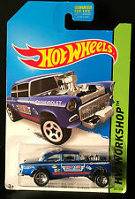 HW Workshop '55 CHEVY BEL AIR GASSER BelAir 2014 Hot Wheels 241/250 have 8 avail