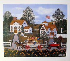 Jane Wooster Scott ROAD RAGE Hand Signed Limited Edition Lithograph