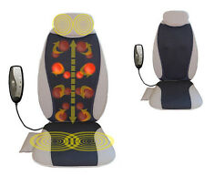 New Electric Chair-type Body Shiatsu 3D Massage Vibration Massager Heat Home Car