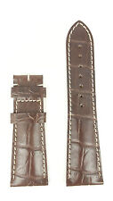 Longines Master Collection L682111187 25mm Brown Alligator Leather Watch Strap