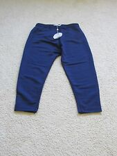 NEW WOMEN'S FINDERS KEEPERS UNDERPASS DROP CROTCH PANTS NAVY BLUE SIZE MEDIUM
