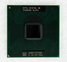 New SLGFC Intel Core 2 Duo P8400 2.26 GHz Dual-Core Laptop Processor CPU