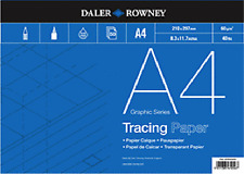 Daler Rowney Tracing Paper Pad - 60 gsm - A4