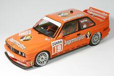 BMW M3 (E30) Sport Evolution - Team JÄGERMEISTER - DTM 1992 1:18 Autoart 89248