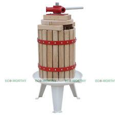 Cider Press Apple or Soft Fruit Wine 6 Ltr Spindle Press Vigo Home Brew Cider