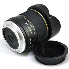 Jintu Super Wide 8mm II F/3.5 Fisheye Len For Canon 450D 550D 650D 750D 60D 70D