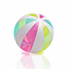 Intex Giant Classic Glossy and Colorful Inflatable Panel Beach Ball   59066EP