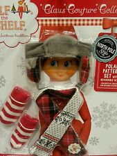 The Elf on the Shelf Couture: Polar Pattern Set for Boy or Girl Elf- NIP