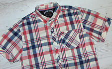 ATTRACTIVE TOMMY HILFIGER DENIM BLUE / PINK / WHITE SHIRT SIZE S SMALL