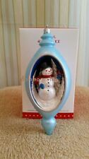 Hallmark 2015 Friend of a Feather Snowman Club Exclusive Christmas Ornament