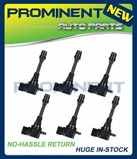 New Pack 6 Ignition Coil For 03-09 Infiniti FX35 G35 M35 Nissan 350Z IC114 C1439