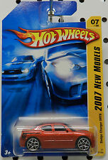DODGE BOYS SCAT PACK CHARGER SRT8 2007 07 RED SUPER BEE HW HOT WHEELS