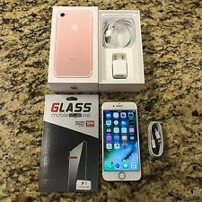 FACTORY UNLOCKED Apple iPhone 7 256GB Rose Gold Smartphone AT&T T-MOBILE GSM #24