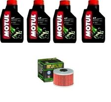 KIT OLIO MOTUL 5000 1OW40+HF112 Honda XL600 RD,RE,RF  83-85