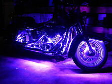 Wireless Remote 18 Color 5050 SMD RGB Led H.D. Motorcycle 14pc Led Lighting Kit