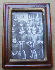 1:12 Scale Framed Picture (Print) Of A Group Of Police Dolls House Miniature Art