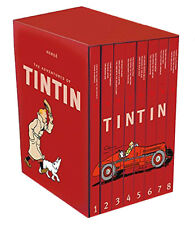 The Tintin Collection red : The Adventure of Tintin - Compact Box Set by Herge