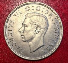 1937 Great British (UK) Coronation Crown - King George VI Silver
