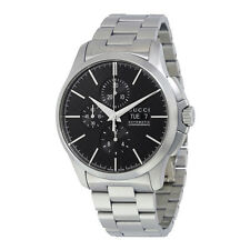 Gucci G-Timeless Chronograph Automatic Black Dial Stainless Steel Mens Watch