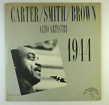 "12"" LP-Carter, Smith, Brown-alto Artistry 1944-b4067-Slavati & cleaned"