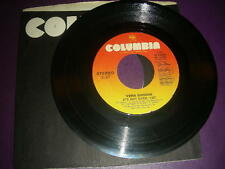 """Country 45 Vern Gosdin """"It's Not Over Yet/ Who You Gonna Blame"""" 1988 VG"""