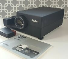 Rollei Slide Projector P66S w/ IR Remote Recieiver - Works - With Original Box