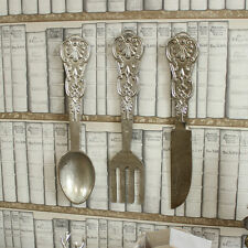 Oversized metal wall hanging cutlery decoration knife fork spoon gift ornament