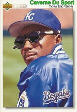 476 TOM GORDON KANSAS CITY ROYALS  BASEBALL CARD UPPER DECK 1992