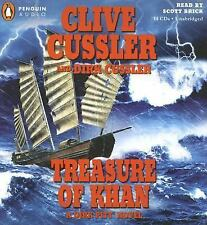 Brand New TREASURE OF KHAN by CLIVE CUSSLER Unabridged CD Audio Book