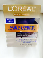 L'Oreal Skin Expertise Night Creme Age Perfect for Mature,thinning skin 1.7oz