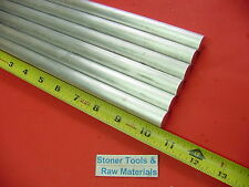 """6 pieces 5/8"""" ALUMINUM 6061 ROUND ROD 10.5"""" long Solid T6511 Lathe Bar Stock"""