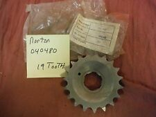 Norton NOS AJS Matchless AMC 750 Front Drive Gearbox 19 Tooth Sprocket 040480