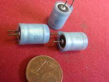 SELTEN! KONDENSATOR 150µF 6,3V= klein ELKO D=9x13mm gepolt RM~4-5mm   3x  25255