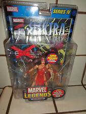 Marvel Legends Series 4 ELEKTRA figure Daredevil Toy Biz DR DOOM Spider-Man MOC
