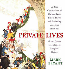 Private Lives Mark Bryant Very Good Book