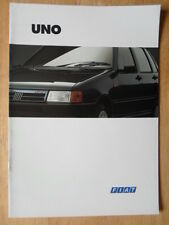 FIAT UNO Range orig 1994 UK Mkt sales brochure - Start