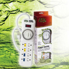 Zilla Reptile Analog Timer Power Center - 8 outlet