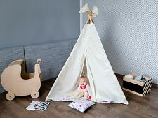 play tent Playhouse Kids Teepee Tipi Tent Indoor Outdoor Tepee incl. poles