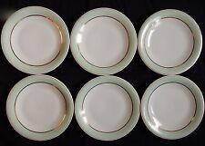 Lot x6 assiettes à dessert GEORGES BOYER Porcelaine de LIMOGES (lot n°1)
