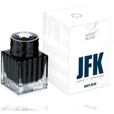 MONTBLANC JFK SPECIAL EDITION JOHN F KENNEDY INK INKWELL NEW IN BOX NAVY BLUE