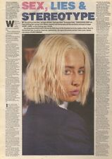 4/11/89Pgn46 Article & Picture 'sex, Lies & Stereotype' Transvision Vamp's Wend
