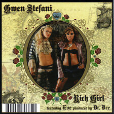 Cardsleeve Single cd Gwen Stefani Rich Girl feat Eve prod. by Dr. Dre 2TR 2005