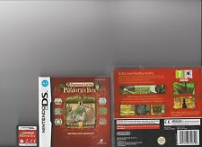 PROFESSOR LAYTON AND PANDORA'S BOX NINTENDO DS