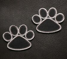 BEAR TRACKER PAWS USA ARMY TACTICAL SWAT VELCRO® BRAND FASTENER 2 PATCH SET