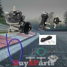 Black Turbo Charger Type-RS Blow Off Valve + 30PSI Manual Boost Controller Kit