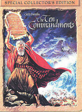 The Ten Commandments (Special Collector's Edition), Good DVD, Yul Brynner, Charl