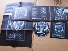 MOTÖRHEAD,KISS OF DEATH(limited edition) cd m(-)/m(-)+Poster steamhammer Germany