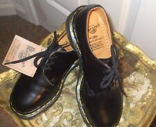 New Dr. Martens 1461 Made in England UK 3/US 5 Black 3 Eye Women's Casual Shoe