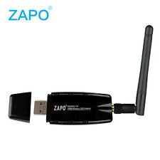 300Mbps Wireless USB WiFi Network Card LAN Adapter Dongle PC Laptop + Antena